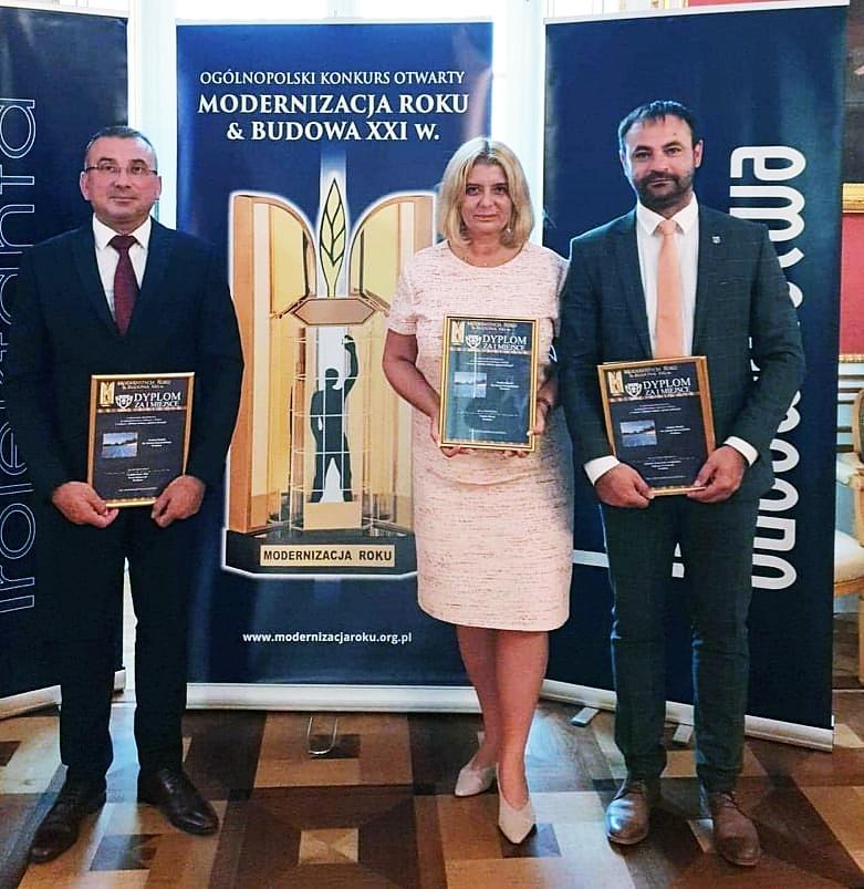 Gala wręczenia nagród Modernizacja Roku 2018